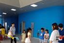 고려인 아동청소년들이 세계문화페스티벌의 한국문화체험