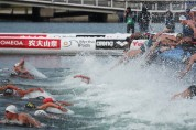 오픈워터 수영 남자 10km 결승 경기