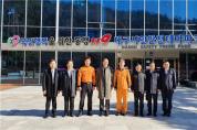 중국 고위 공무원단 시민안전테마파크 방문