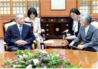 외교부 초청으로 류자이(劉家義) 중국 산둥성 당서기 방한